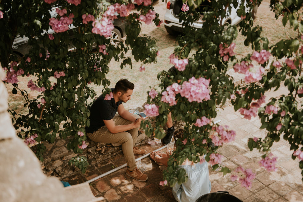 Boda Mas Noguer Girona - El taller de nice day - El ramo volador