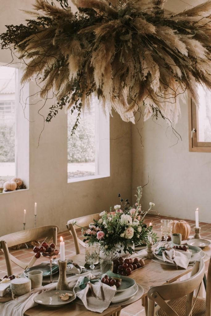 Decoración de bodas - Editorial boda Masia Can Dansa - El taller de nice day - Sara Cuadrado