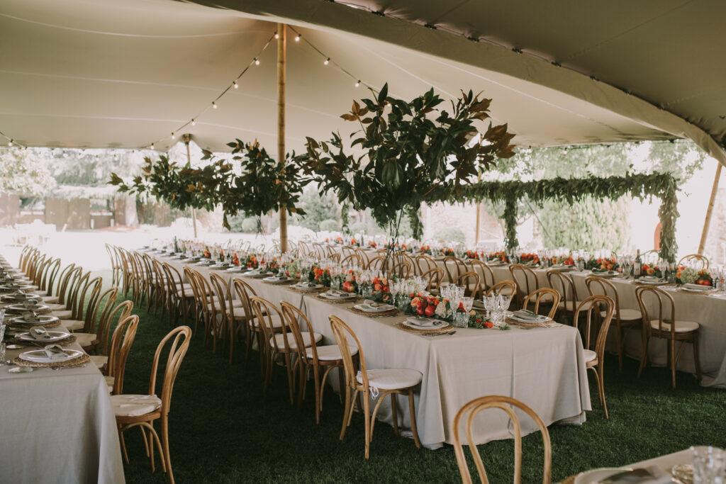 wedding planner Girona El taller de nice day - El ramo volador
