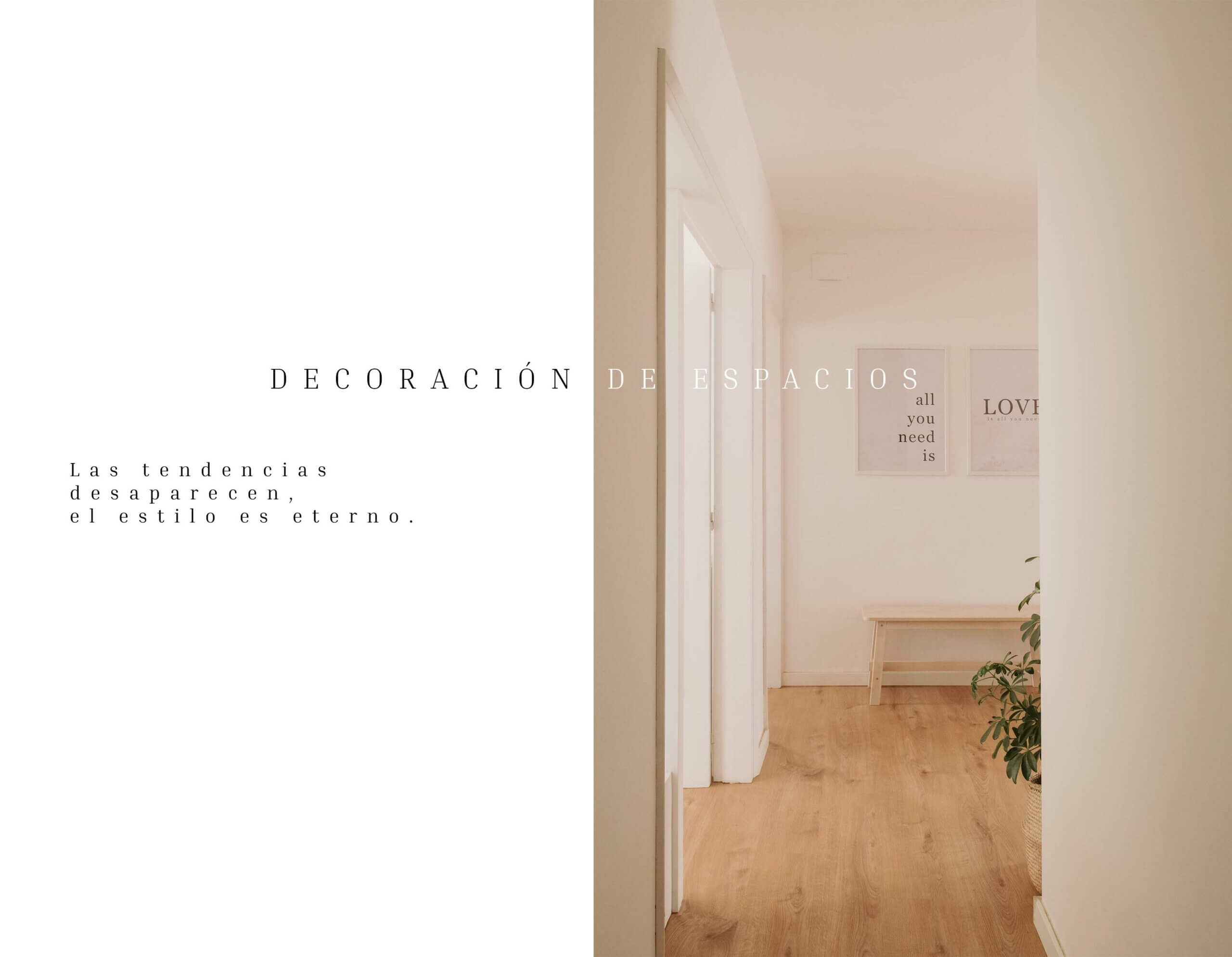 Decoración de espacios