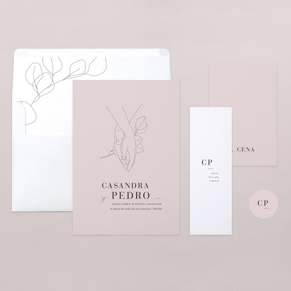 Invitaciones de boda - El taller de nice day - Wedding Planner y decoración de bodas - Cotton Bird