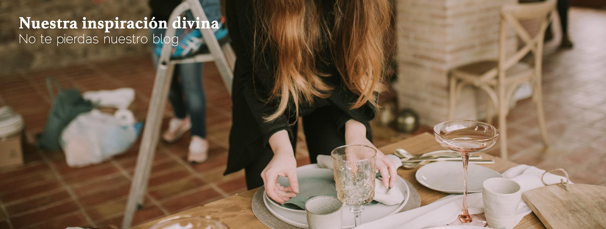 Inspiración divina - El taller de nice day - Decoraciones de bodas